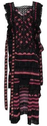 Zimmermann Lace-up Striped Cutout Chiffon Mini Dress