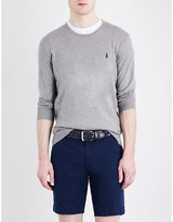 Polo Ralph Lauren Slim-fit crewneck cotton and cashmere-blend jumper