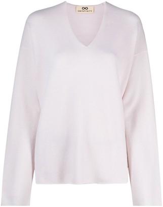 Sminfinity V-neck cashmere jumper