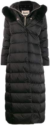 Herno padded layered coat