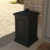 Berkshire 45 Gallon Plastic Deck Box Mayne Inc. Color: Black