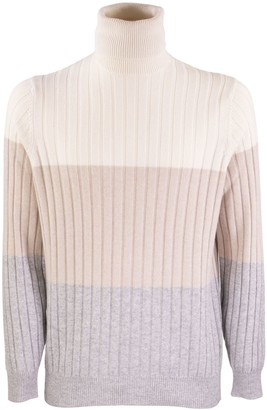 Brunello Cucinelli High Neck Sweater Cashmere Turtleneck Sweater