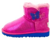 UGG Girls' Mini Bailey Button Booties w/ Tags