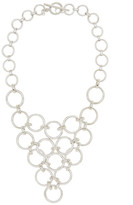 Trina Turk Round Chain Link Frontal Necklace