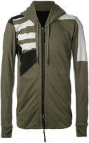 11 By Boris Bidjan Saberi zipped hoodie