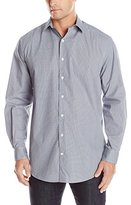 Perry Ellis Men's Big-Tall Printed Micro Cube Shirt