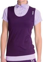 Reebok Golf Polo Shirt - Snap Collar, Short Sleeve (For Women)