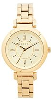 DKNY Women's 'Ellington' Quartz and Stainless-Steel-Plated Casual Watch, Color:Gold-Toned (Model: NY2583)
