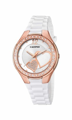 Calypso Women's Analogue Analog Quartz Watch with Plastic Strap K5679/L