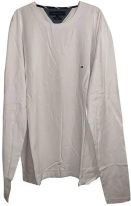 Tommy Hilfiger White Cotton Knitwear & Sweatshirts