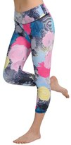 Jala Clothing Sup Yoga Capri In Under The Sea