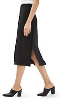 Topshop Women's Waffle Knit Midi Skirt