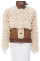 Polo Ralph Lauren Shearling and Suede Jacket