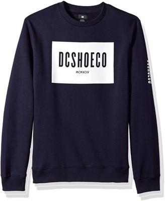 DC Men's Squareside Crew Sweatshirt