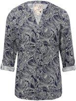 M&Co Paisley print jersey shirt