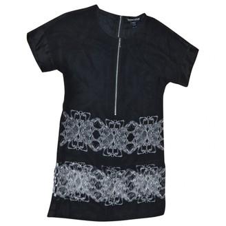Thomas Wylde Black Silk Dress for Women