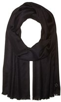 Calvin Klein Women's Solid Satin Finish Pashmina