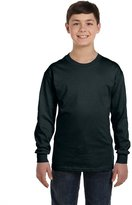 Hanes Youth 6.1 oz. Tagless ComfortSoft Long-Sleeve T-Shirt