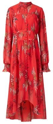 AllSaints Leonie Melisma Midi Dress