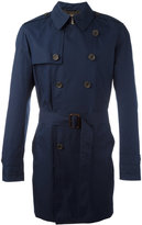 Sealup - belted trench coat - men - Cotton/Polyurethane/Cupro - 52