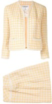 1994's Tweed setup jacket skirt