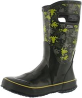 Bogs Boys' Frogs Tall Rain Boot 4 M US