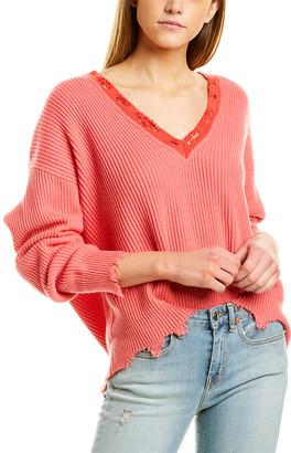 IRO Ribbed Cashmere-Blend Sweater