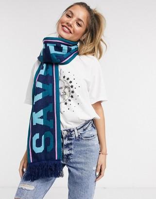 Skinnydip save the future scarf