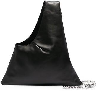 Kara Chain-Link Detail Shoudler Bag