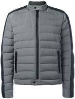 Just Cavalli zip up padded jacket