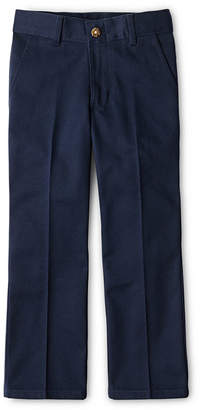 Izod Exclusive Boys Adjustable Waist Reinforced Knee Flat Front Pants Big Kid