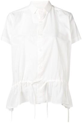 Y's Gathered Waist Shirt