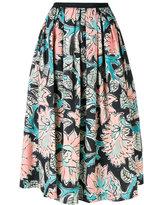 Antonio Marras floral print full skirt - women - Cotton/Spandex/Elastane - 38