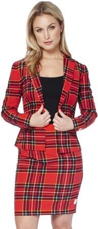 ba5379a9d367ef Red Plaid Suit - ShopStyle