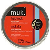 M:uk Muk Haircare Hard Brutal Hold Mud, 1.76 Ounce