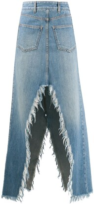 Givenchy Split Long Skirt