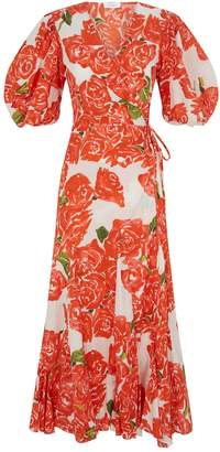 Rhode Resort Cotton Fiona Midi Dress