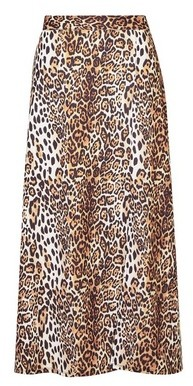 Dorothy Perkins Womens Tall Multi Colour Jersey Animal Print Skirt