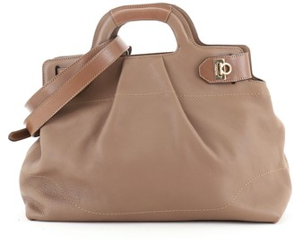 Salvatore Ferragamo Soft W Tote Leather Large
