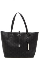 Vince Camuto Leila Laser-Cut Leather Tote