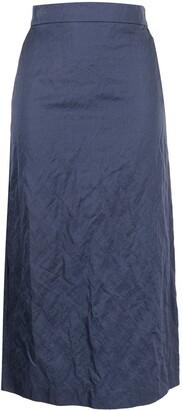 Brock Collection Stella high-waisted midi skirt