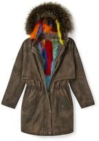 Rebecca Minkoff Theo Coat With Fur