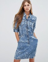 Pepe Jeans Aeryn Denim Shirt Dress