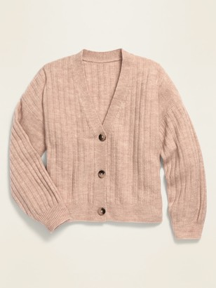 Old Navy Cropped Button-Front V-Neck Cardigan for Girls