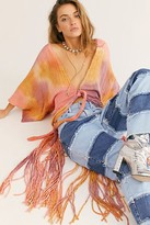 Jens Pirate Booty January River Kimono by at Free People, Sunset Tie Dye, M/L