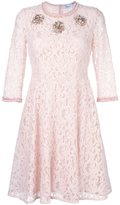 Blumarine embellished lace dress