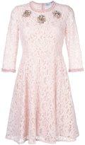 Blumarine embellished lace dress