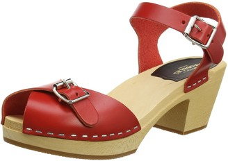 Swedish Hasbeens Women's Pia High Heeled Sandal
