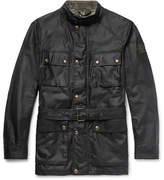 Belstaff Roadmaster Waxed-cotton Jacket - Black