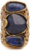 Etro Engraved stone-embellished ring
